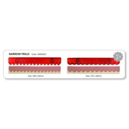 JEM - Ribbon Cutters - Narrow Frills set van 2