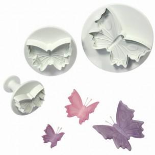 PME - Vlinder Plunger Uitsteker Set/3