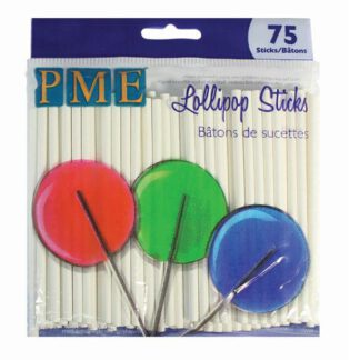 PME - Lollypop sticks 75 stk